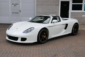 2004 Porsche Carrera GT - White For Sale