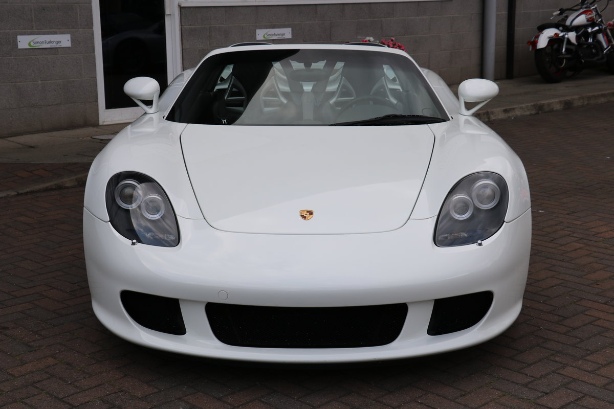2004 Porsche Carrera GT - White For Sale (picture 2 of 6)