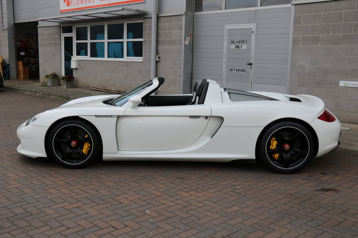2004 Porsche Carrera GT - White For Sale (picture 4 of 6)