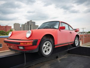 1988 Porsche 911 Carrera Coupe Project  For Sale by Auction