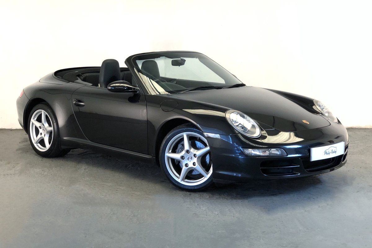 2005 Porsche 997 Carrera Cabriolet Tiptronic  SOLD (picture 1 of 6)