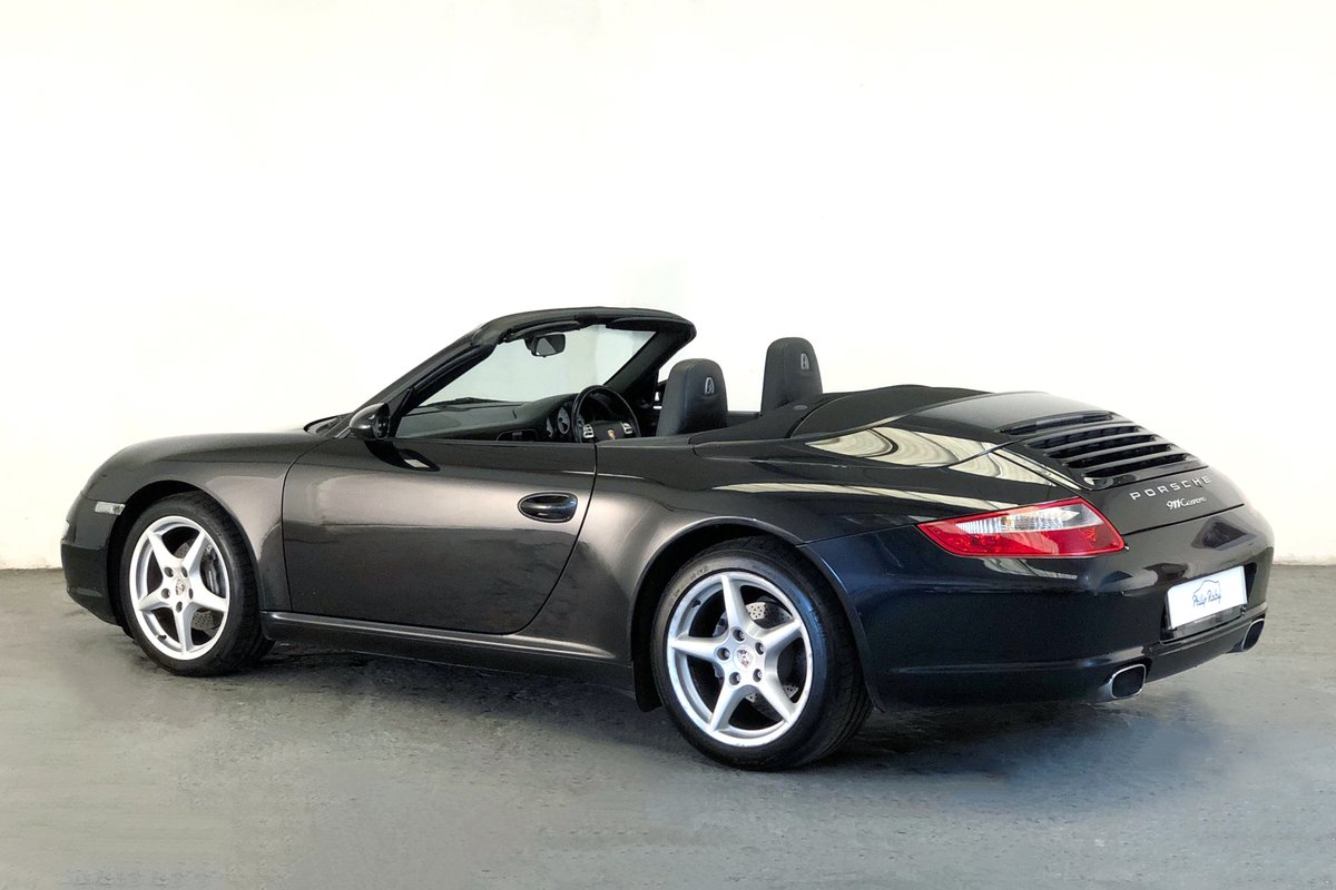 2005 Porsche 997 Carrera Cabriolet Tiptronic  SOLD (picture 2 of 6)
