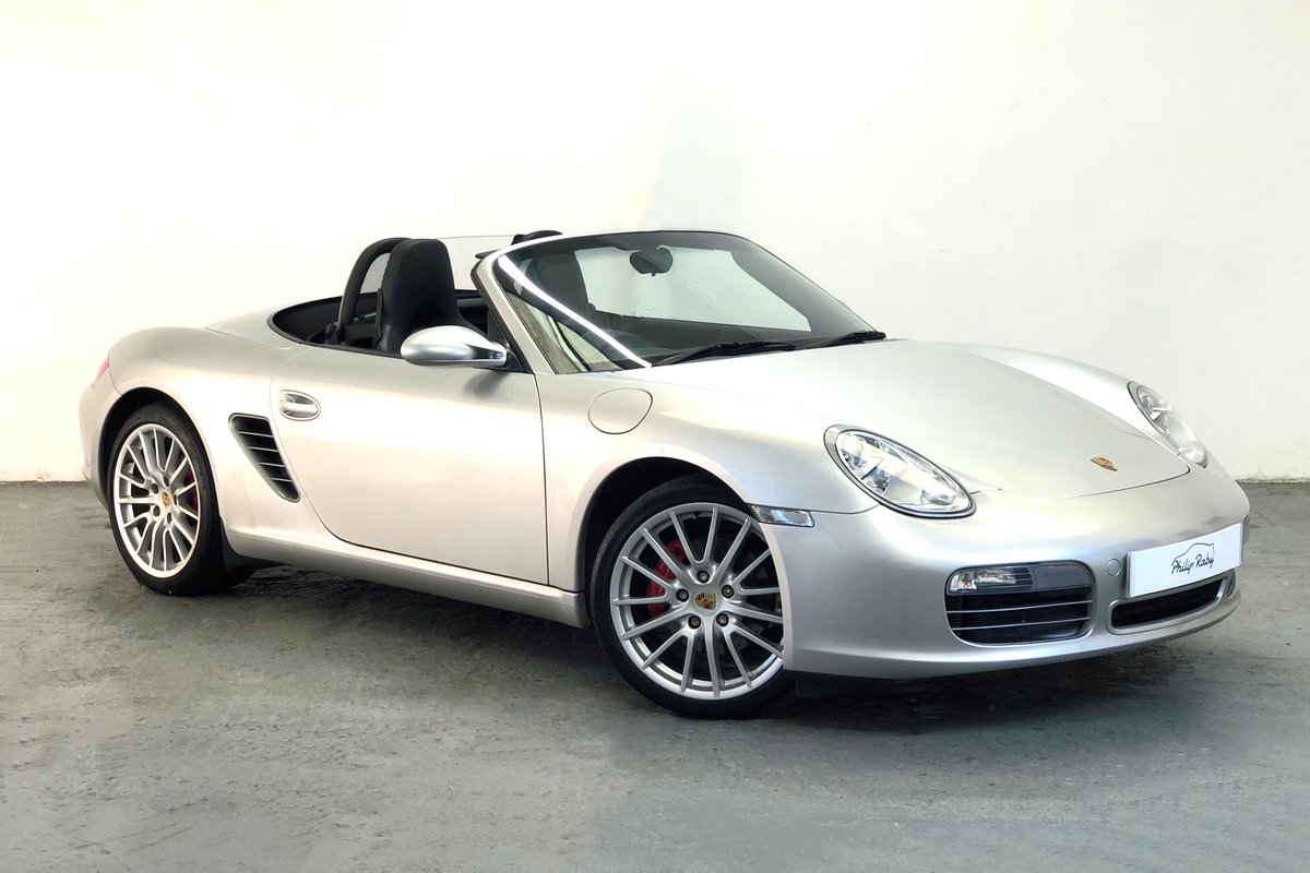 2006 Porsche 987 Boxster S. Low mileage, great history For Sale (picture 1 of 6)