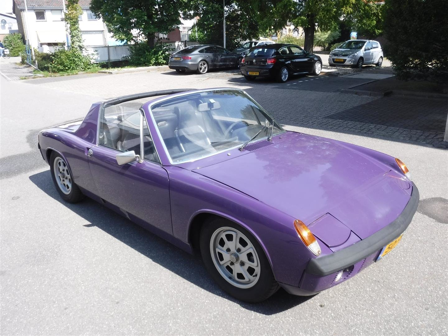 1973 Porsche 914 2.0 purple! For Sale (picture 1 of 6)