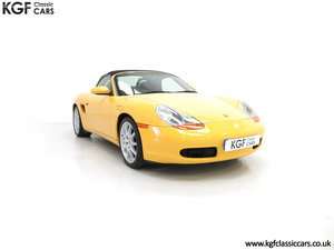 2002 A Stunning Porsche Boxster 986 with 37,421 Miles SOLD