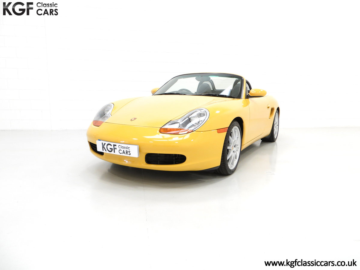 2002 A Stunning Porsche Boxster 986 with 37,421 Miles SOLD (picture 2 of 6)