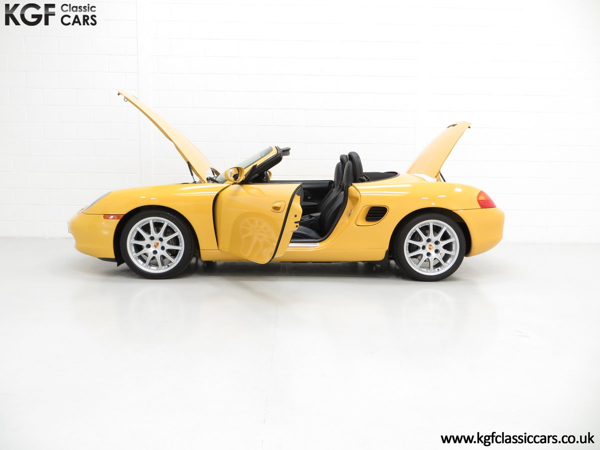 2002 A Stunning Porsche Boxster 986 with 37,421 Miles SOLD (picture 3 of 6)