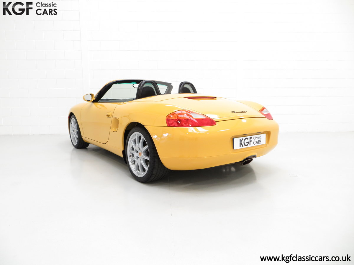 2002 A Stunning Porsche Boxster 986 with 37,421 Miles SOLD (picture 4 of 6)