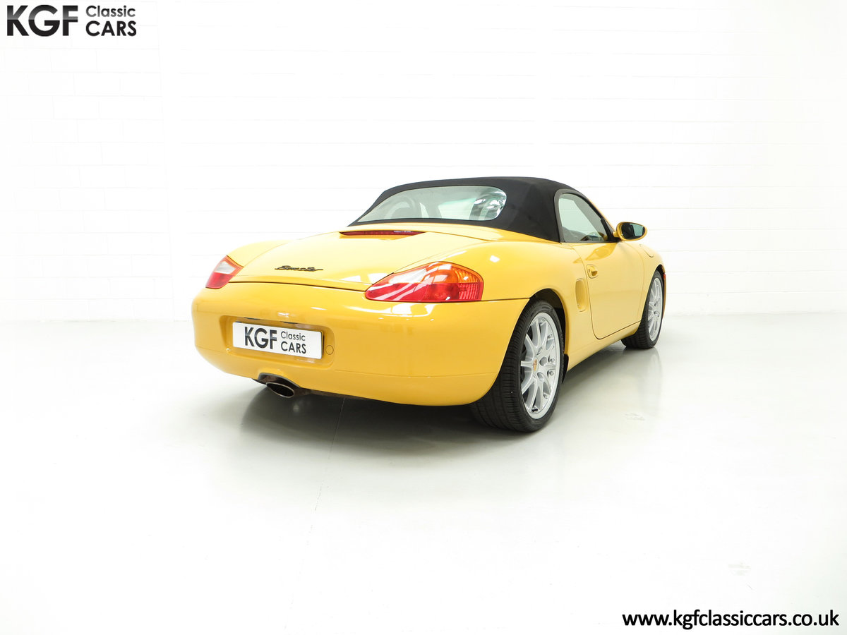 2002 A Stunning Porsche Boxster 986 with 37,421 Miles SOLD (picture 5 of 6)