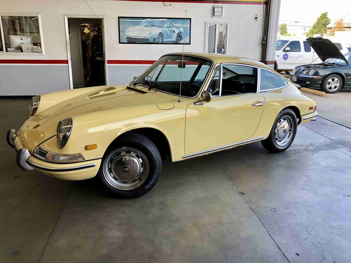 1968 Porsche 912 Coupe - All Original CA Car 2.Owner - For Sale (picture 1 of 6)