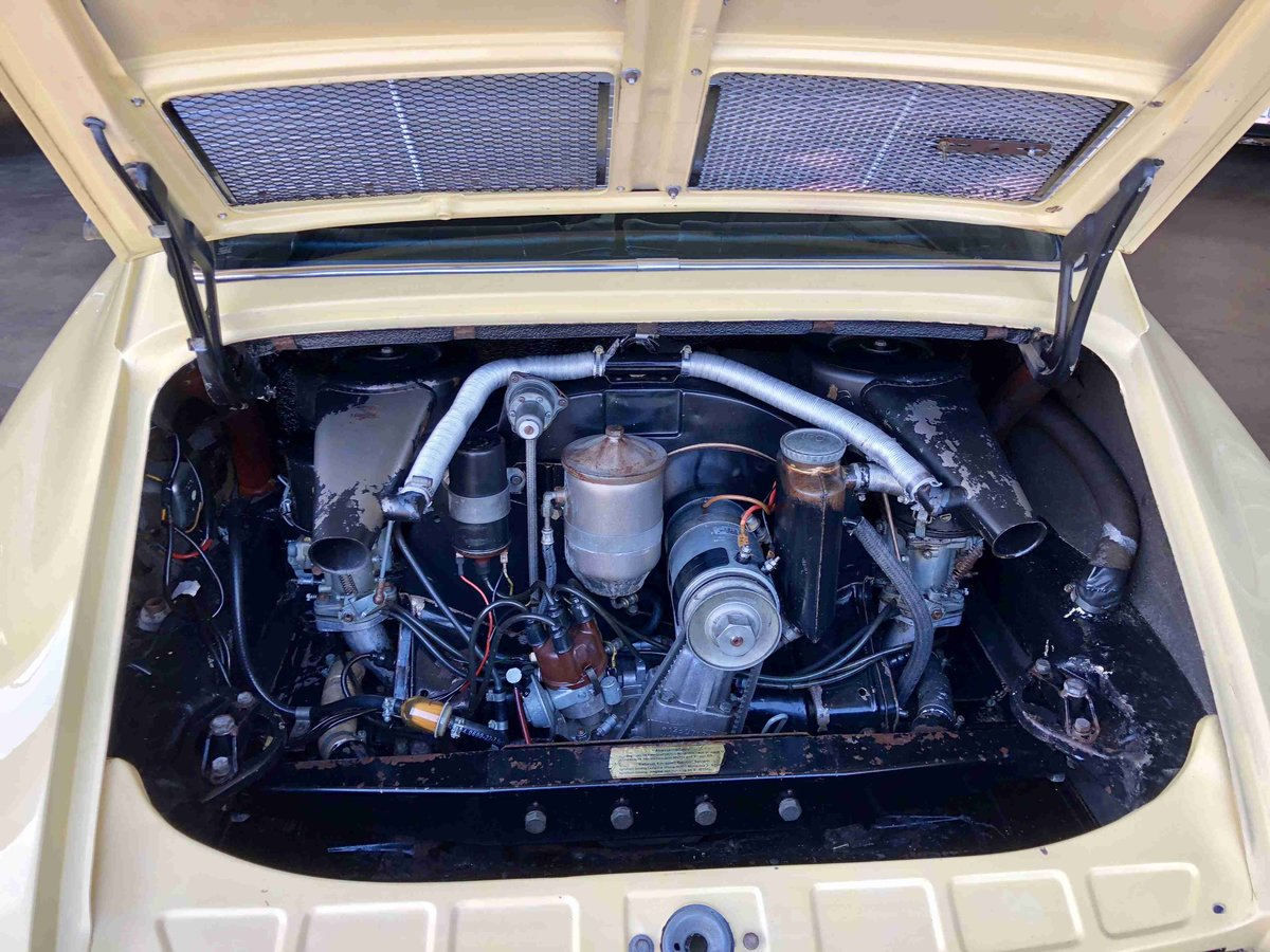 1968 Porsche 912 Coupe - All Original CA Car 2.Owner - For Sale (picture 4 of 6)