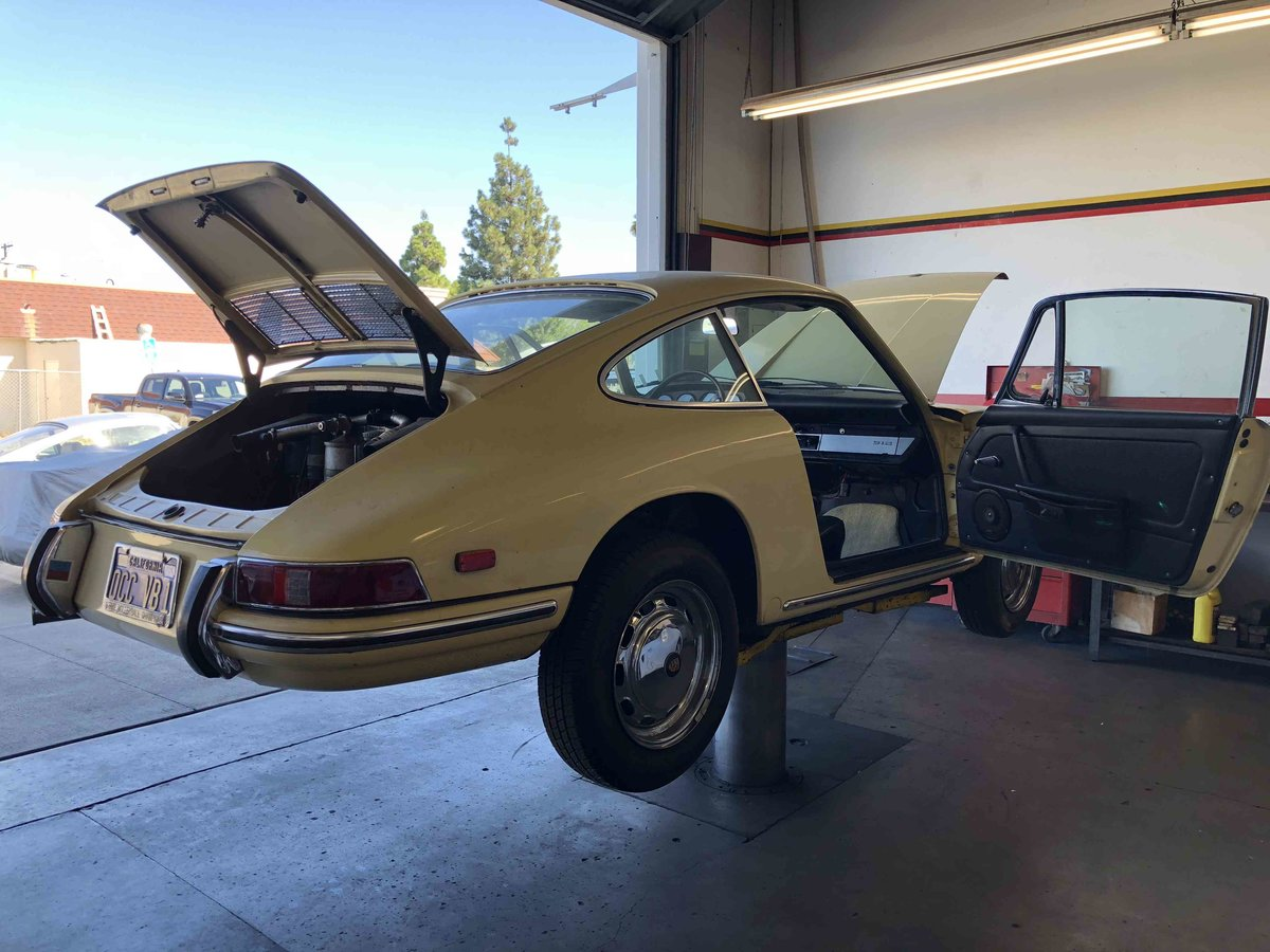 1968 Porsche 912 Coupe - All Original CA Car 2.Owner - For Sale (picture 6 of 6)