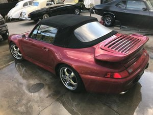 LHD PORSCHE 911 with 993 look 1971, LEFT HAND DRIVE For Sale