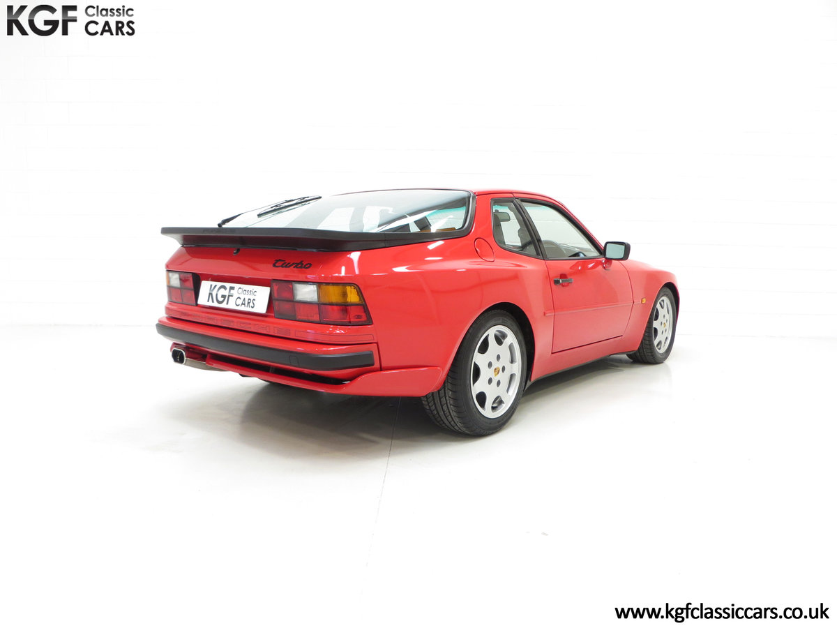 1988 A Multiple Porsche Club GB Concours Winning 944 Turbo S SOLD (picture 5 of 6)