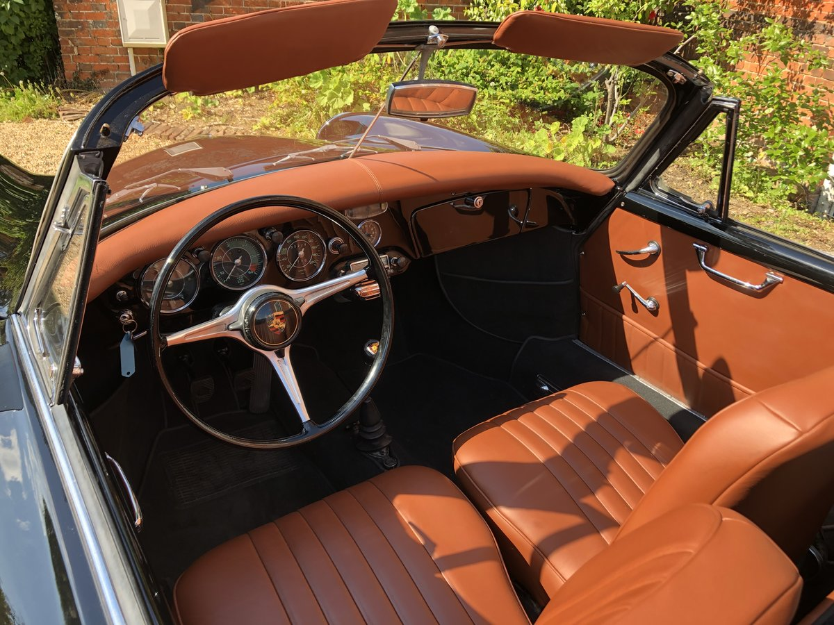 Porsche 356 B T5 Cabriolet 1961 For Sale (picture 10 of 24)