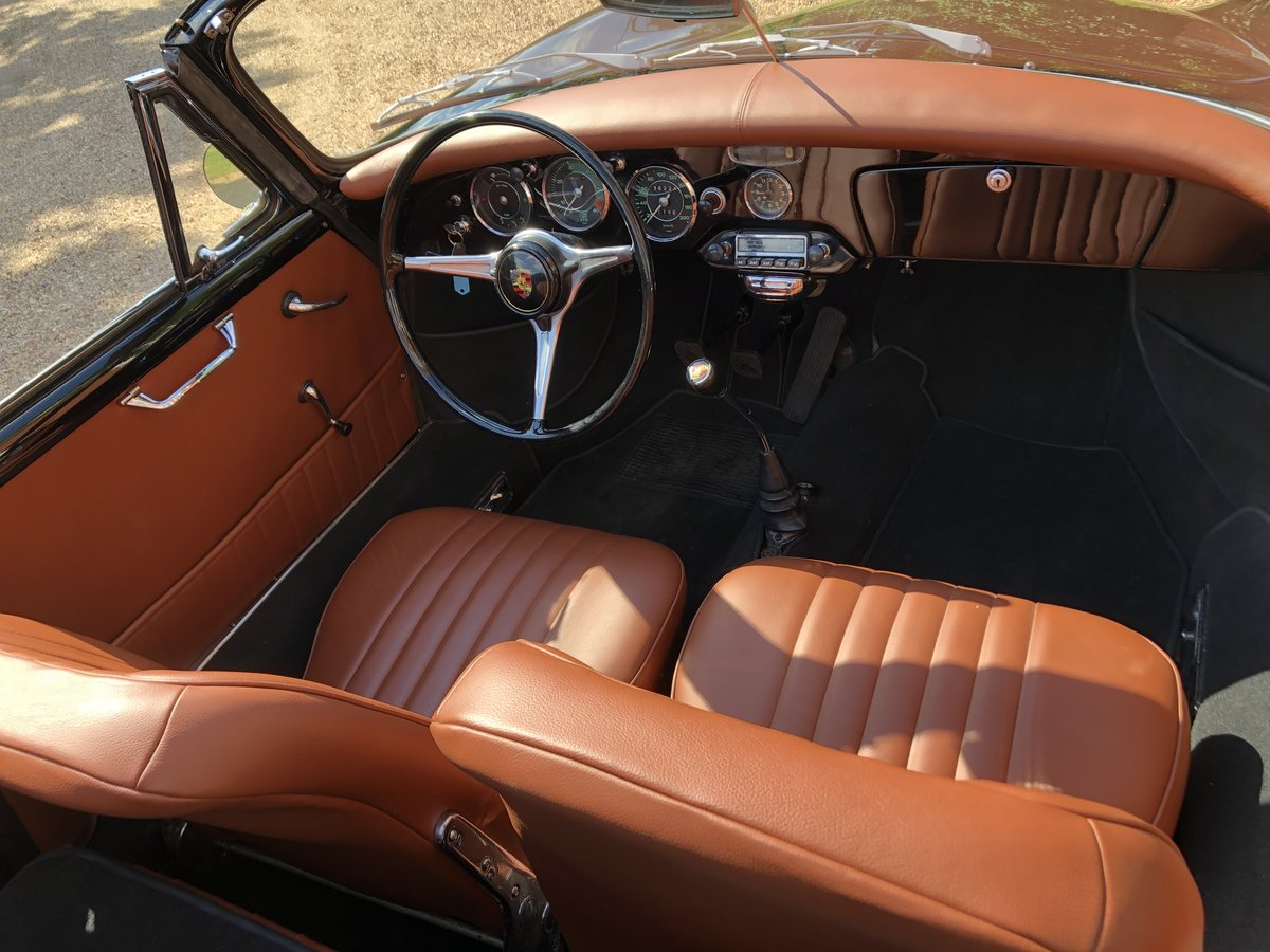 Porsche 356 B T5 Cabriolet 1961 For Sale (picture 11 of 24)