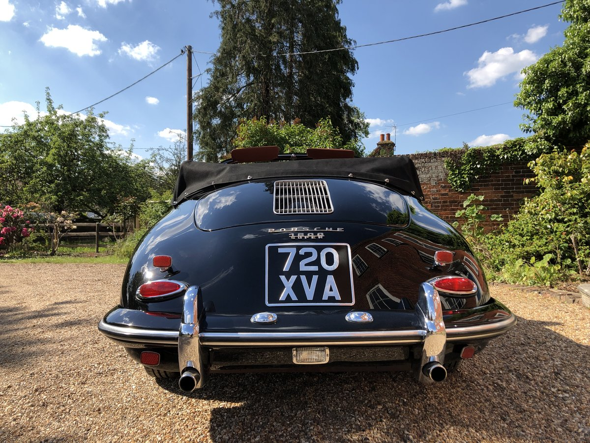 Porsche 356 B T5 Cabriolet 1961 For Sale (picture 19 of 24)