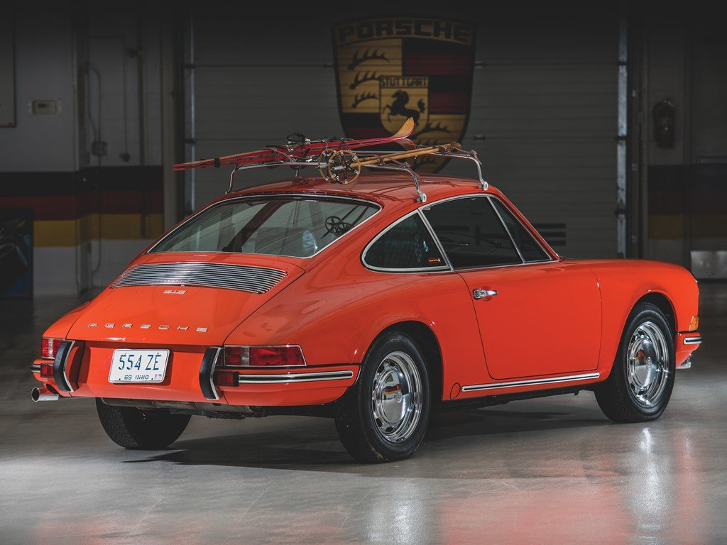 1969 Porsche 912 Coupe by Karmann For Sale by Auction (picture 2 of 6)