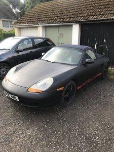 1998 Porsche Boxster Rat look.