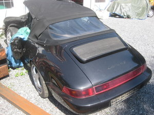 Porsche 911 964 Cabrio Tiptr 1990 Damaged for parts For Sale