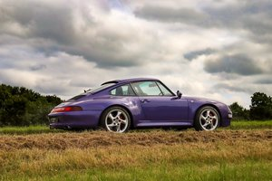 1998 RARE 993 LOW MILEAGE MANUAL C 4S - SPECTACULAR VIOLET BLUE   For Sale