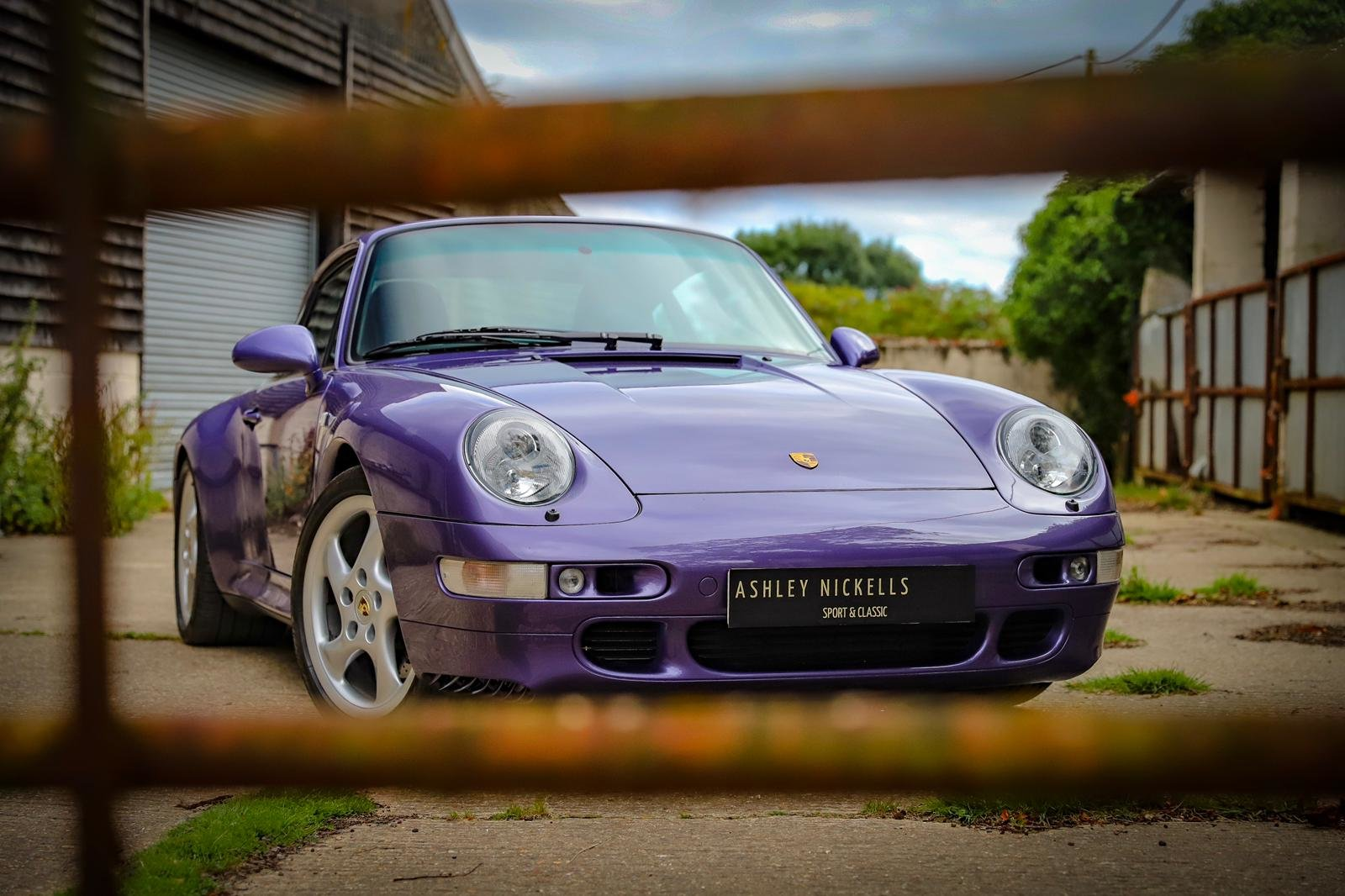 1998 RARE 993 LOW MILEAGE MANUAL C 4S - SPECTACULAR VIOLET BLUE   For Sale (picture 4 of 6)