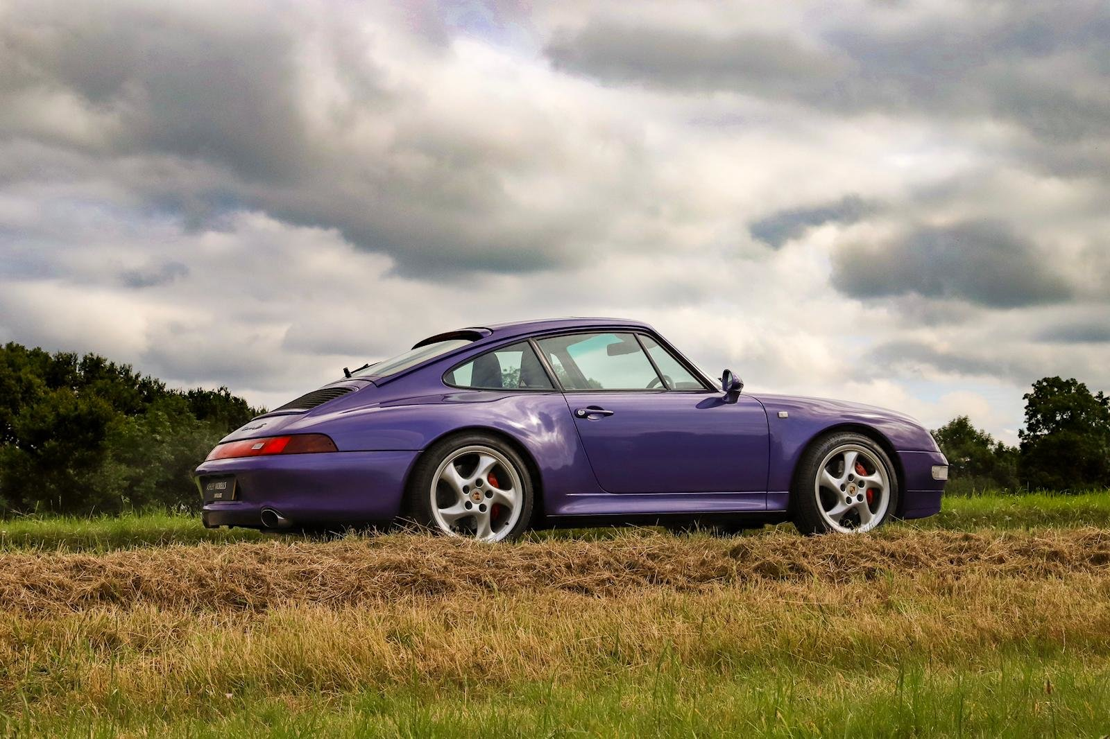1998 RARE 993 LOW MILEAGE MANUAL C 4S - SPECTACULAR VIOLET BLUE   For Sale (picture 2 of 6)