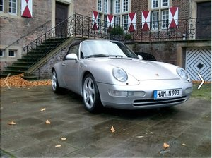 1997 Porsche 993 Cabrio the last aircooled For Sale