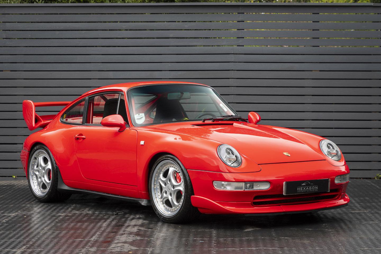 1995 Porsche 911 (993) CLUB SPORT LHD SOLD (picture 1 of 6)