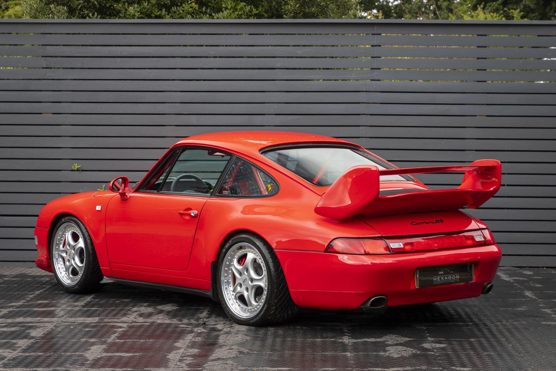 1995 Porsche 911 (993) CLUB SPORT LHD SOLD (picture 2 of 6)