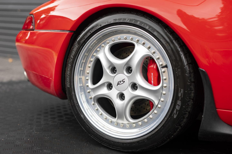 1995 Porsche 911 (993) CLUB SPORT LHD SOLD (picture 6 of 6)