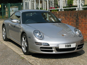 2006-PORSCHE  997 C2 COUPE - ARCTIC SILVER For Sale