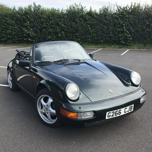 1990 Deposit now taken. Porsche 911 964 C4 Manual Cab  For Sale