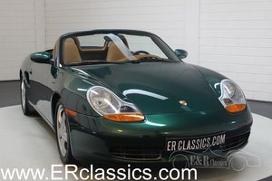 Porsche Boxster 2.7 Cabriolet 2001 Dark green metallic For Sale