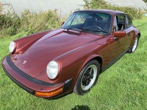 1985 Porsche 911 930 Carrera coupe low mileage For Sale