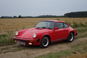 1986 Porsche Carrera 3.2 Coupe Guards Red For Sale