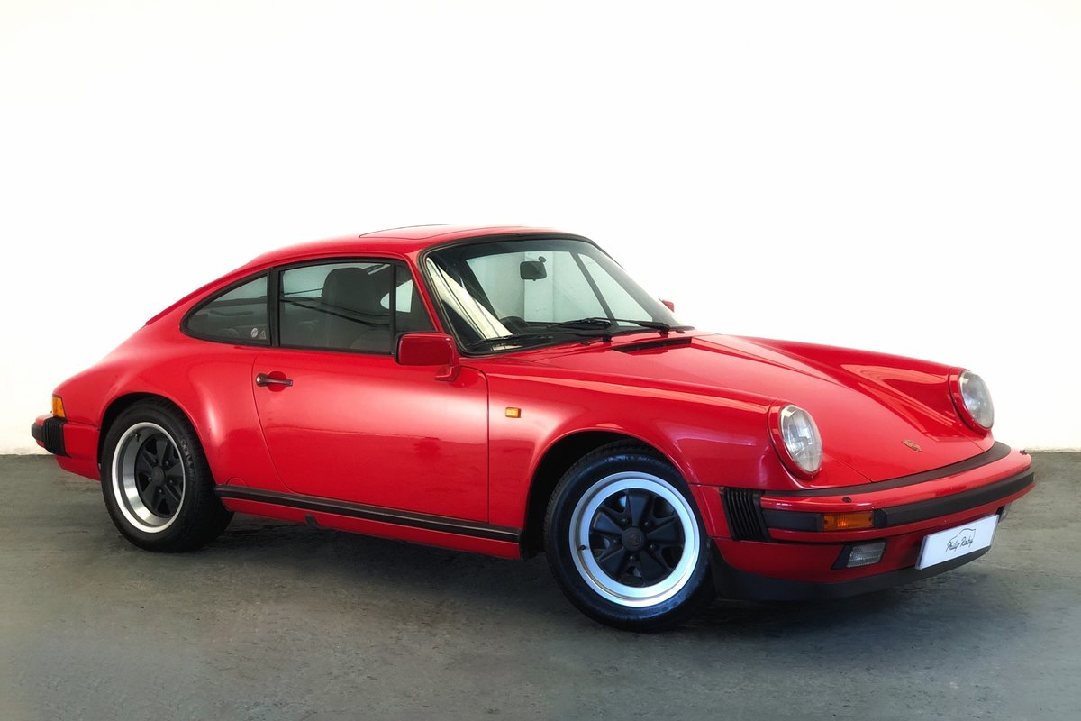 1988 Porsche 911 Carrera 3.2 G50. Great condition and history SOLD (picture 1 of 6)