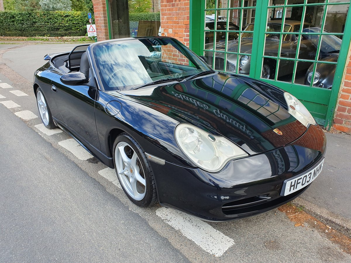 2003 Porsche 911 C2 Cabriolet Manual  For Sale (picture 6 of 6)