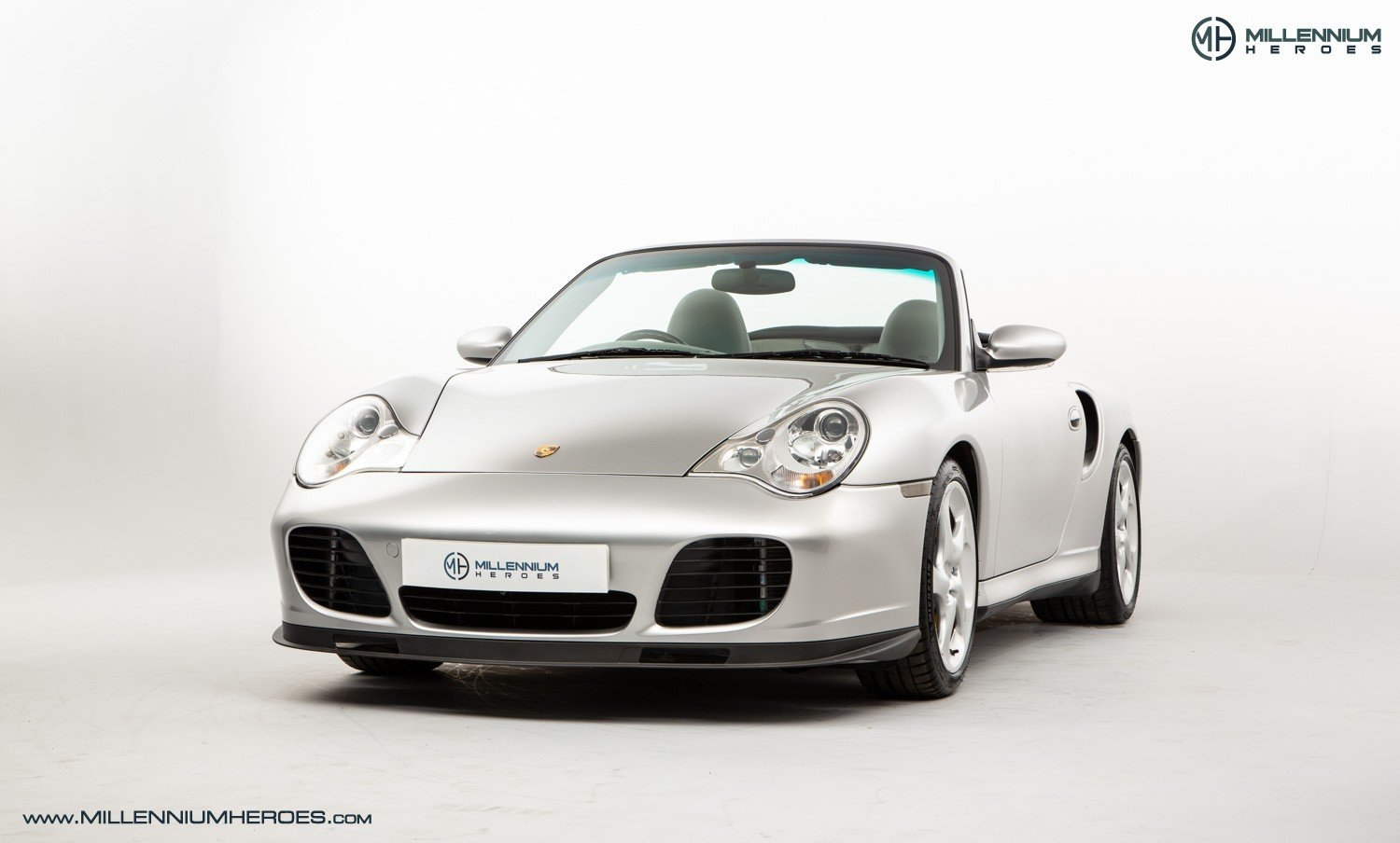 2004 PORSCHE 996 TURBO // X50 PACK // MANUAL // 19K MILES For Sale (picture 1 of 6)