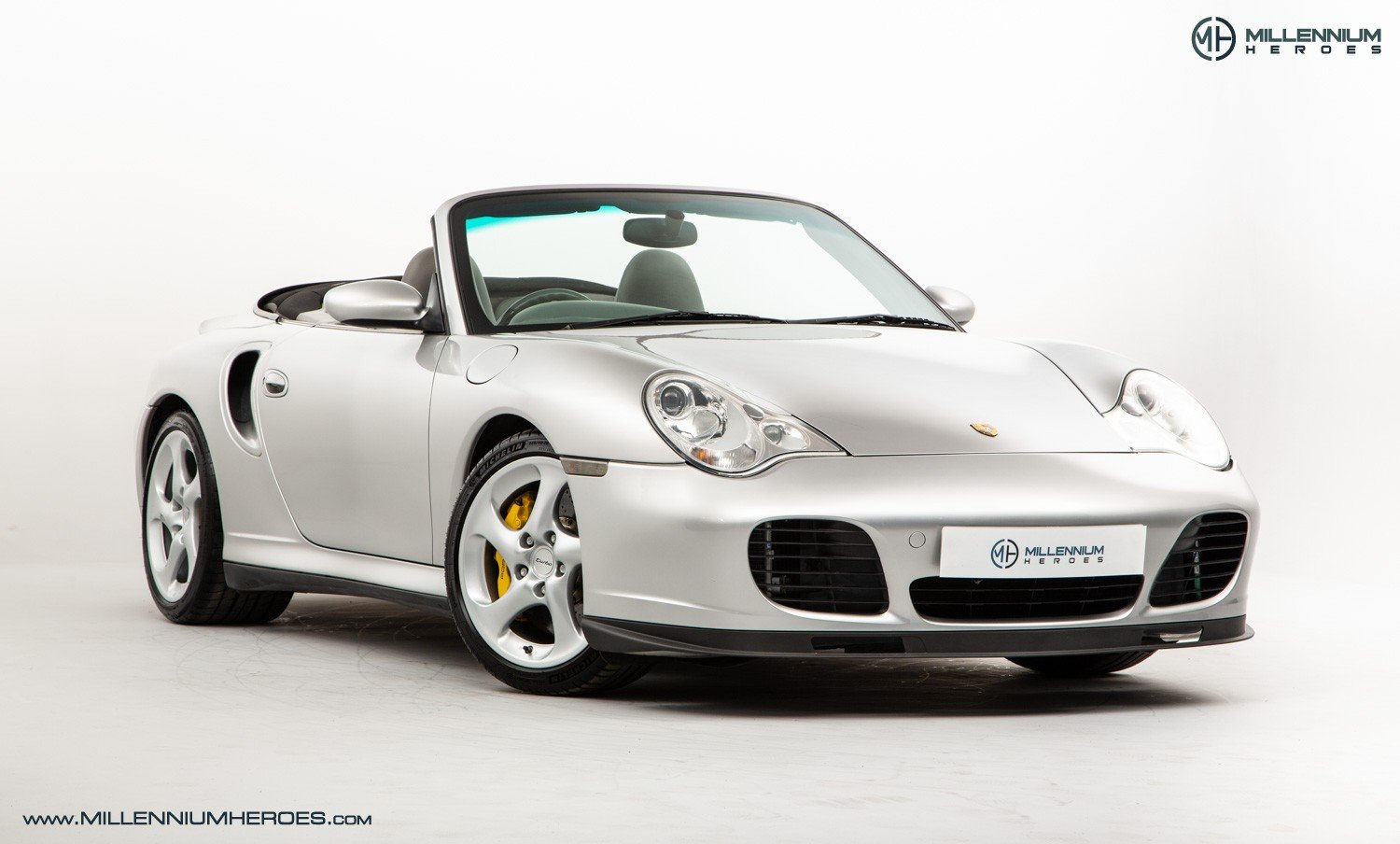 2004 PORSCHE 996 TURBO // X50 PACK // MANUAL // 19K MILES For Sale (picture 2 of 6)