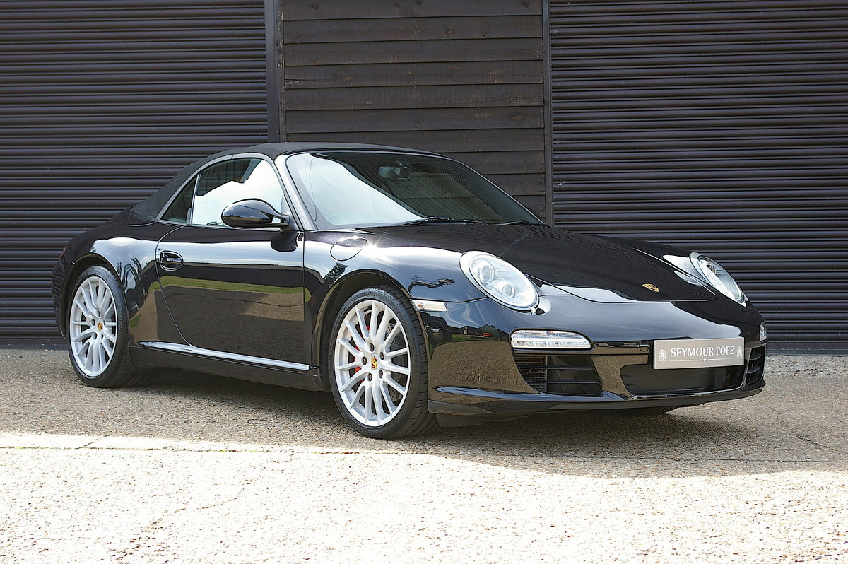 2010 Porsche 997.2 Carrera S 3.8 PDK Convertible (48,732 miles) SOLD (picture 1 of 6)