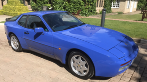 1992 Porsche 944S2 Maritime blue For Sale