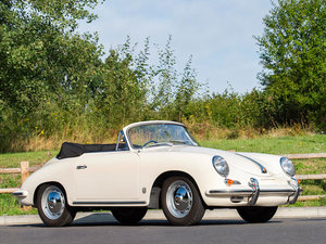 1959 PORSCHE 356B 1600 CABRIOLET For Sale by Auction