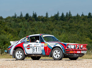 1976 PORSCHE 911 CARRERA 3.0-LITRE RALLY CAR For Sale by Auction