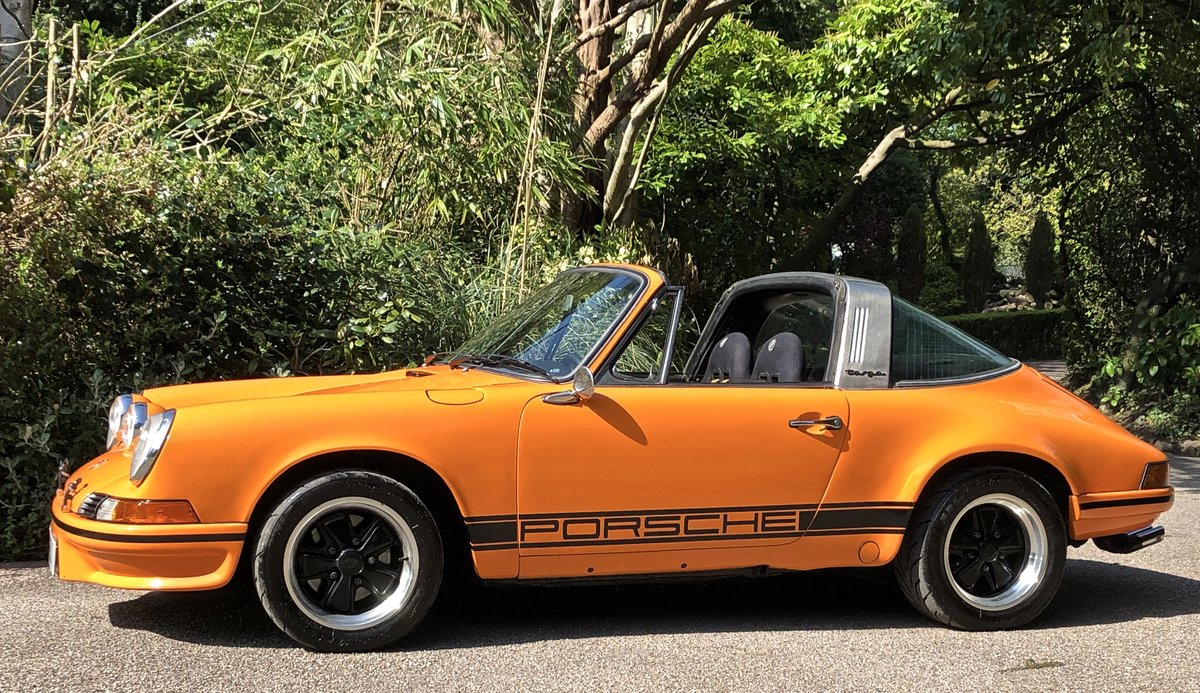 1971 PORSCHE 911T Targa LHD UK supplied Oil Klappe model For Sale (picture 5 of 6)