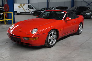 PORSCHE 968 CABRIO, 1992 For Sale by Auction