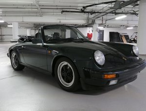 1986 Porsche 911 Carrera Cabriolet RHD  For Sale