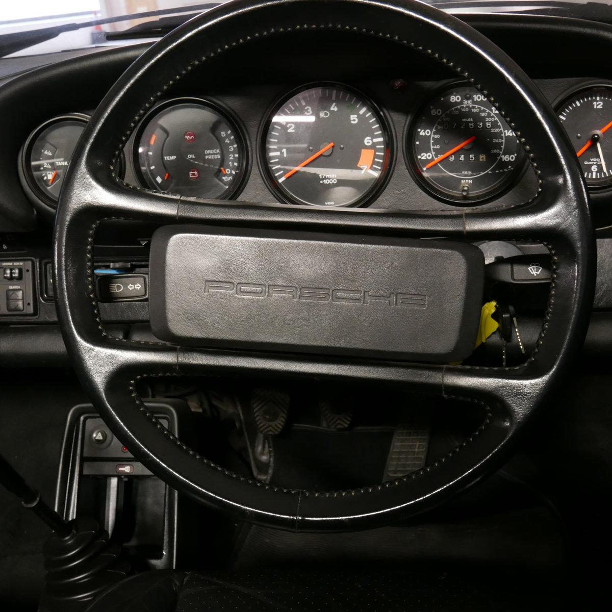 1986 Porsche 911 Carrera Cabriolet RHD  SOLD (picture 6 of 19)