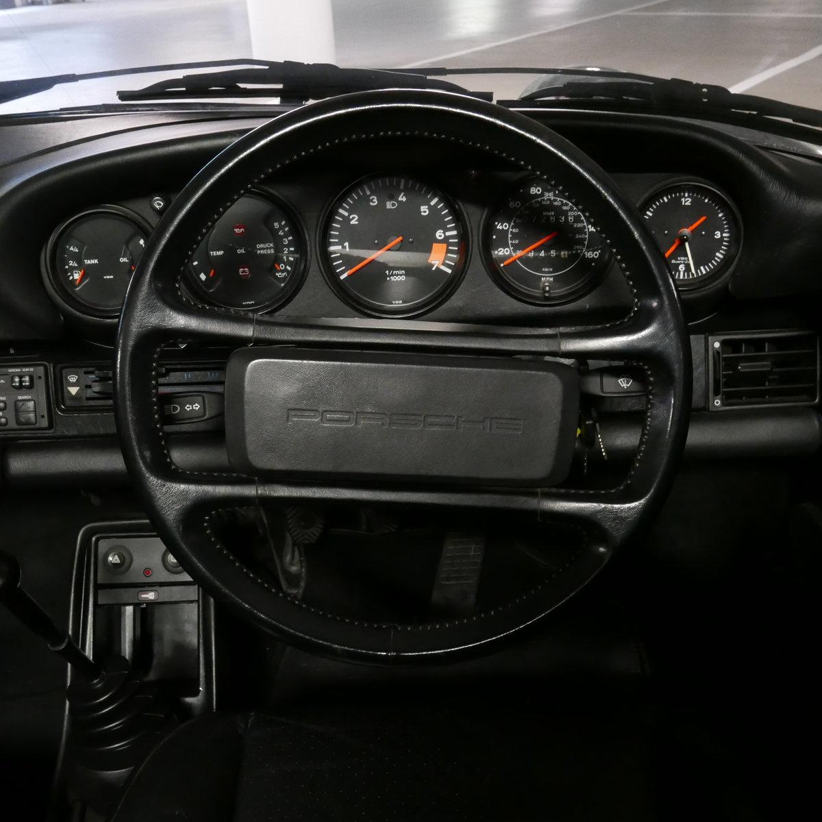 1986 Porsche 911 Carrera Cabriolet RHD  SOLD (picture 7 of 19)