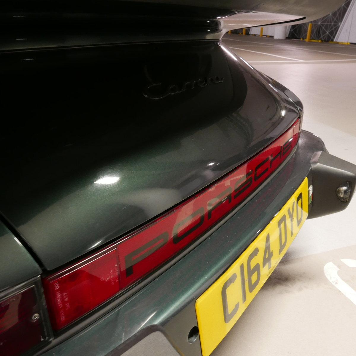1986 Porsche 911 Carrera Cabriolet RHD  SOLD (picture 15 of 19)
